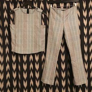 ZARA Glen Plaid Co-ord Suit